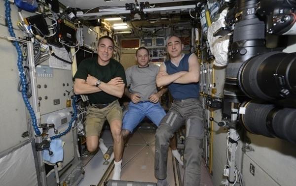 Экипаж МКС вернулся на Землю
